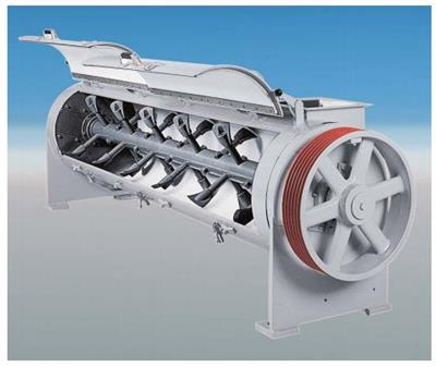 KAHL - Continuous Mixer for Continuous Mixing of Bulk Products and Liquids