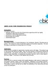 Amnite - AG100 - Pond Regeneration Product Data Sheet