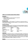Amnite - K150 - Bulking Sludge Control Product Data Sheet