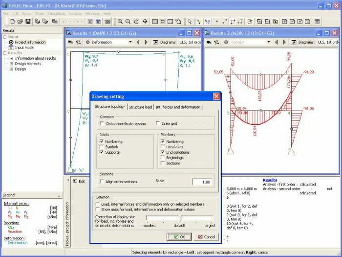 FIN EC structural engineering software - FIN 2D – Analysis of 2D ...