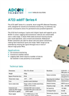 Model A723 addIT Series 4 - Data Logger Brochure