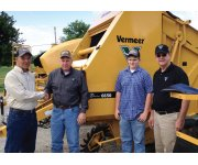 Vermeer Interview Lands Indiana Farmer Brand New Round Hay Baler For The Year
