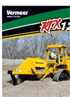 Vermeer - RTX1250 - Ride-On Tractor Brochure