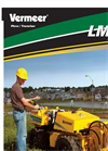 LM25 Hydrostatic Plow/Trencher Product Literature