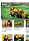 Vermeer - Model PTX40 - Plow/Trencher - Brochure