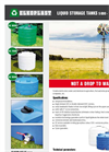 Liquid Storage Tanks Brochure