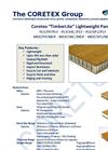 CORETEX TimberLite Lightweight Timber Honeycomb Panels Datasheet