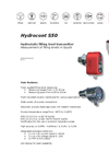 Hydrocont - Model S50 - Filling Level Measurement Brochure