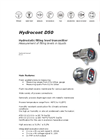 Hydrocont - Model D50 - Filling Level Measurement System Brochure