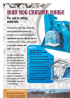 Mud Hog Crushers Range - Brochure