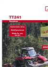 Aebi - Model TT241 - Slope Tractors - Brochure