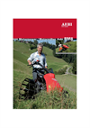 Aebi - Model BM 8 - Motor Mower - Brochure