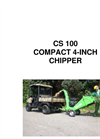 GreenMech - CS 100 - Wood Chippers - Manual