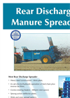 West Rear Discharge Spreader Brochure