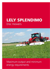 Lely Splendimo - Rear Movers Brochure