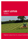 Lely Lotus Stabilo Tedders with Three Point Linkage Brochure