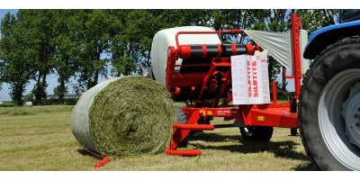Lely Attis - Model PT - Trailed Round Bale Wrappers