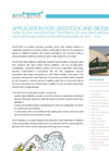 Livestock And Biodigesters Application Notes