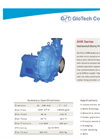 Model AHK Series - Horizontal Slurry Pumps Brochure