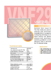 VNF290 - Synthetic Fibre Based Filtermats Brochure