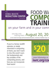 Composting Food Waste on your Farm or in your Community - Event Flyer