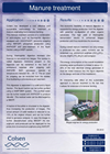 Manure Treatment Methods for Various Manure Types Brochure