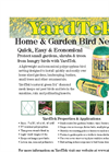 YardTek Garden Netting Brochure (PDF 168 KB)