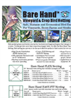 Bare Hand - Vineyard & Crop Bird Netting Brochure
