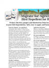 Nixalite - Migrate for Agriculture Bird Repellent Brochure