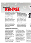 Ropel - Animal & Rodent Repellent Brochure