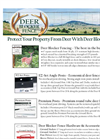 Nixalite - Deer Blocker Deer Fencing Brochure
