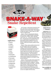 Snake-A-Way - Granular Snake Repellent - Brochure