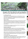 Nixalite - Mosquito Barrier Liquid Repellent Brochure