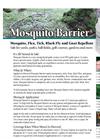 Mosquito Barrier - Mosquito Repellent - Brochure