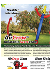 AirCrow - Inflatable Scare Crow - Brochure