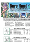 Bare Hand Vineyard & Crop Bird Netting - Brochure