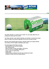 Aquatec - Green Activator - Brochure