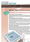 Metos NPK - the mobile soil nutrient laboratory