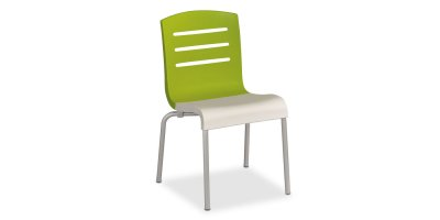 Upbeat - Domino Stacking Chair, Carton of 12