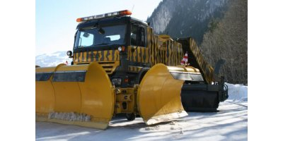 Boschung - Snow Plows With Flap Segment