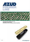 AZUD PREMIER LINE - Multi-seasonal Dripline with Bond-on Emitter Brochure