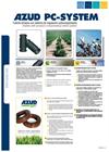 AZUD PC SYSTEM - Dripline with Pressure-compensating Dripper Brochure