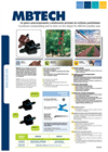 MBTECH - Pressure-compensating and Non-drain On-line Drippers Brochure
