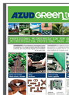 Azud Greentec - Professional Microirrigation System for Gardening Brochure