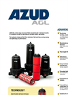 Azud - Model AGL - Disc and Screen Filters System Datasheet