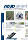 AZUD SPRINT Thinwall Dripline - Brochure