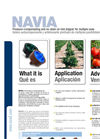 AZUD NAVIA Pressure-Compensating and No-Drain On-Line Drip Emitters - Brochure