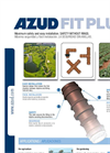 AZUD FIT PLUS - Safety Irrigation Fittings Without Rings - Brochure