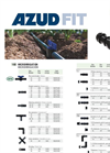 AZUD FIT Tape Fittings - Ring Connectors - Brochure