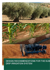 Design Recommendations for the Subsurface Drip Irrigation System - Brochure